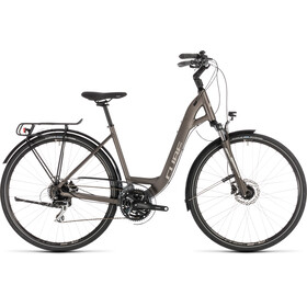 Cube Touring Pro Rower trekkingowy  Easy Entry szary/brązowy
